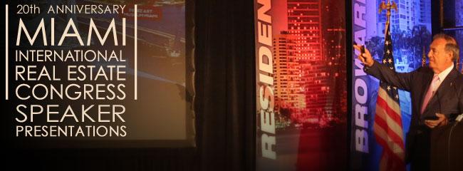 Patricia Delinois presents at 2013 Miami International Real Estates Congress