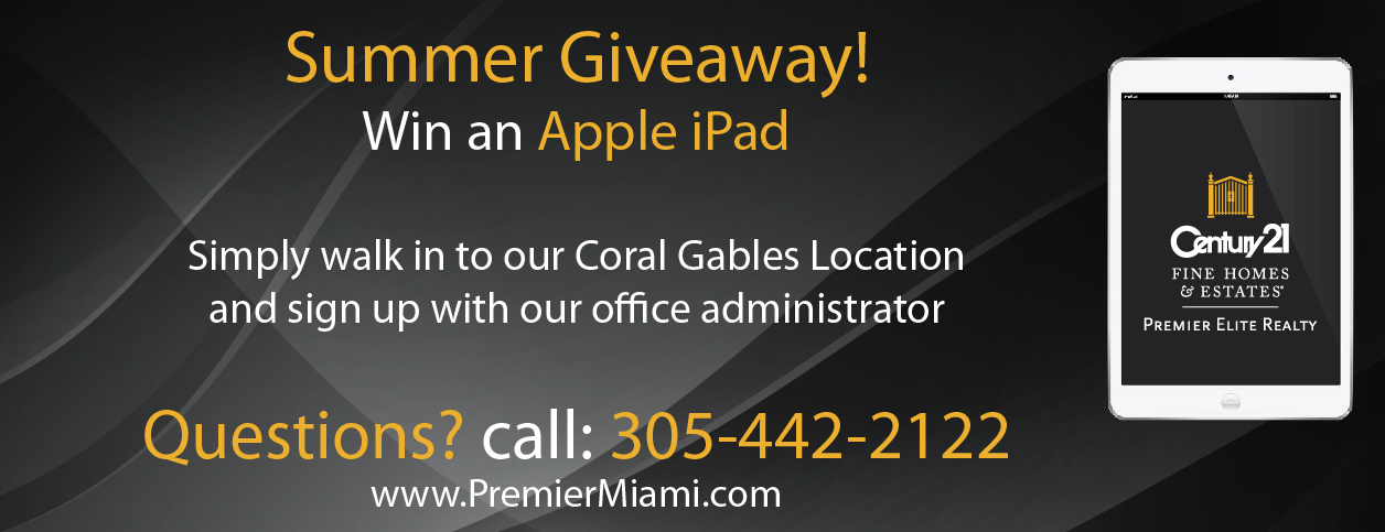 Summer Giveaway! Win an Apple iPad