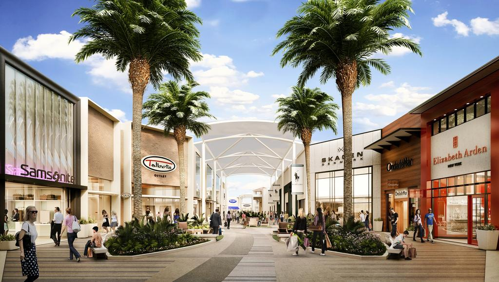 The Oasis at Sawgrass Mills revamp to debut by year end