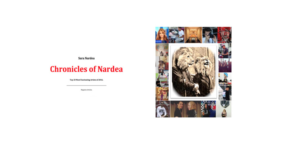 Patricia Delinois featured in the Chronicles of Nardea of 2016