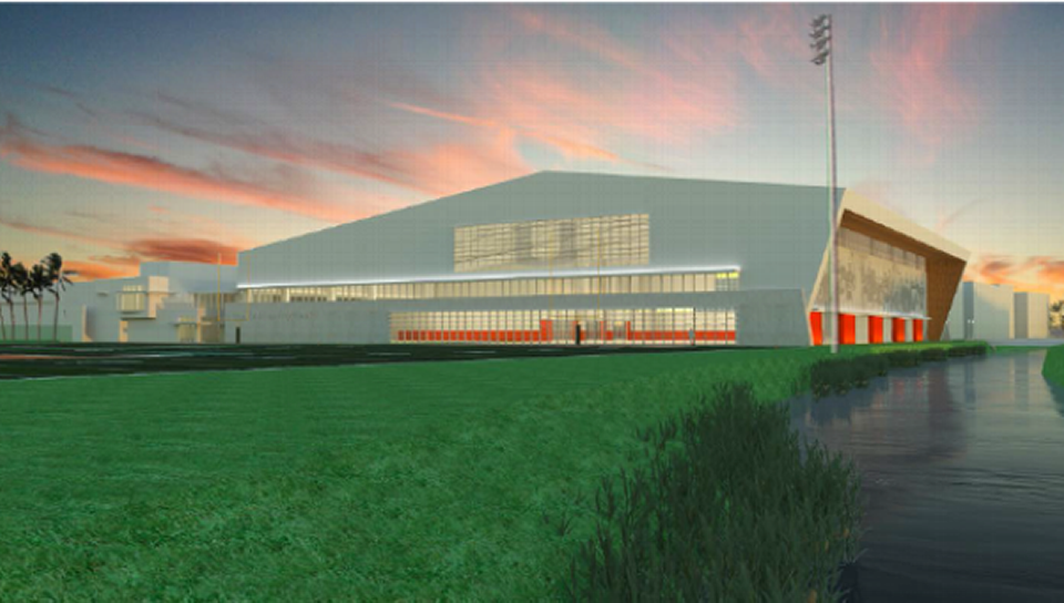 UM announces plan for $14 million dollar indoor football facility