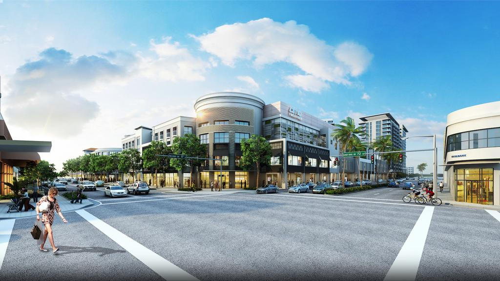 All new mega redevelopment plan for Shops at Sunset Place in South Miami