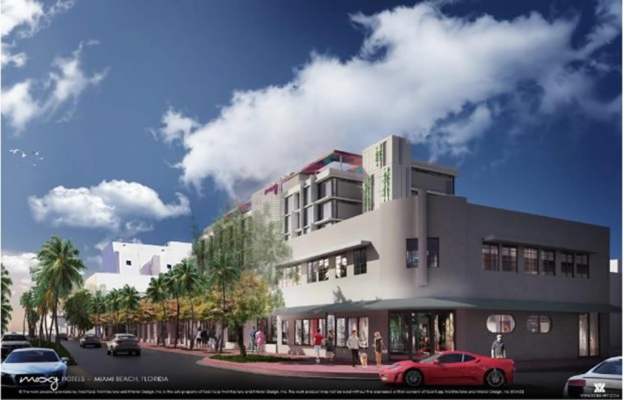 Moxy South Beach – 947 Washington Avenue gets nod from preservation board