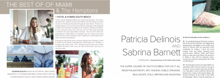 The Best of Miami and The Hamptons, Patricia Delinois and Sabrina Barnett