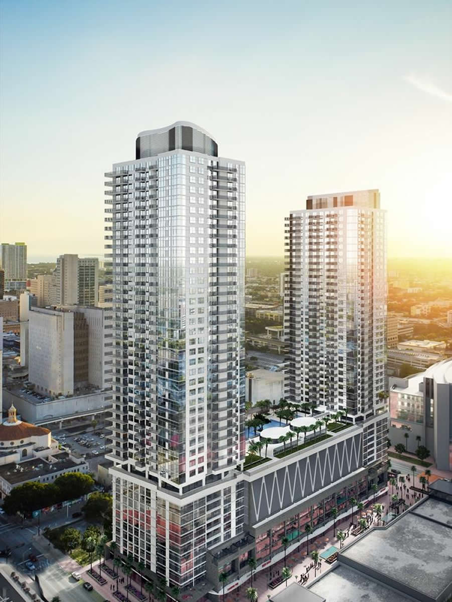 Miami Worldcenter secures first construction loan for Seventh Street Apartments