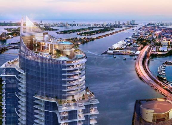 Paramount, Miami Worldcenter's signature tower