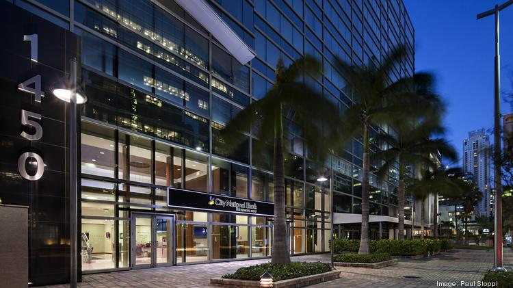 City National Bank of Florida sells Miami Beachmoffice to Pacific Star Capital