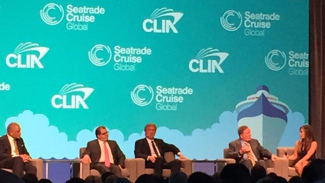 Cruise line executives remain bullish about industry growth