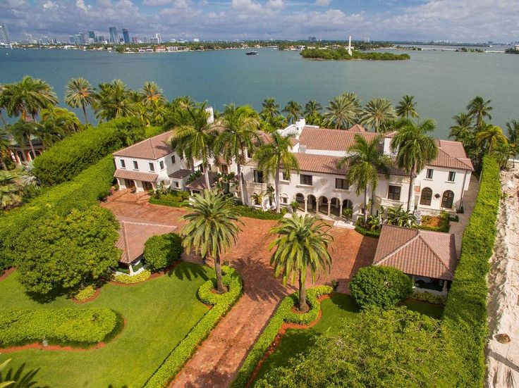 Miami's 11 most expensive homes for sale, mapped