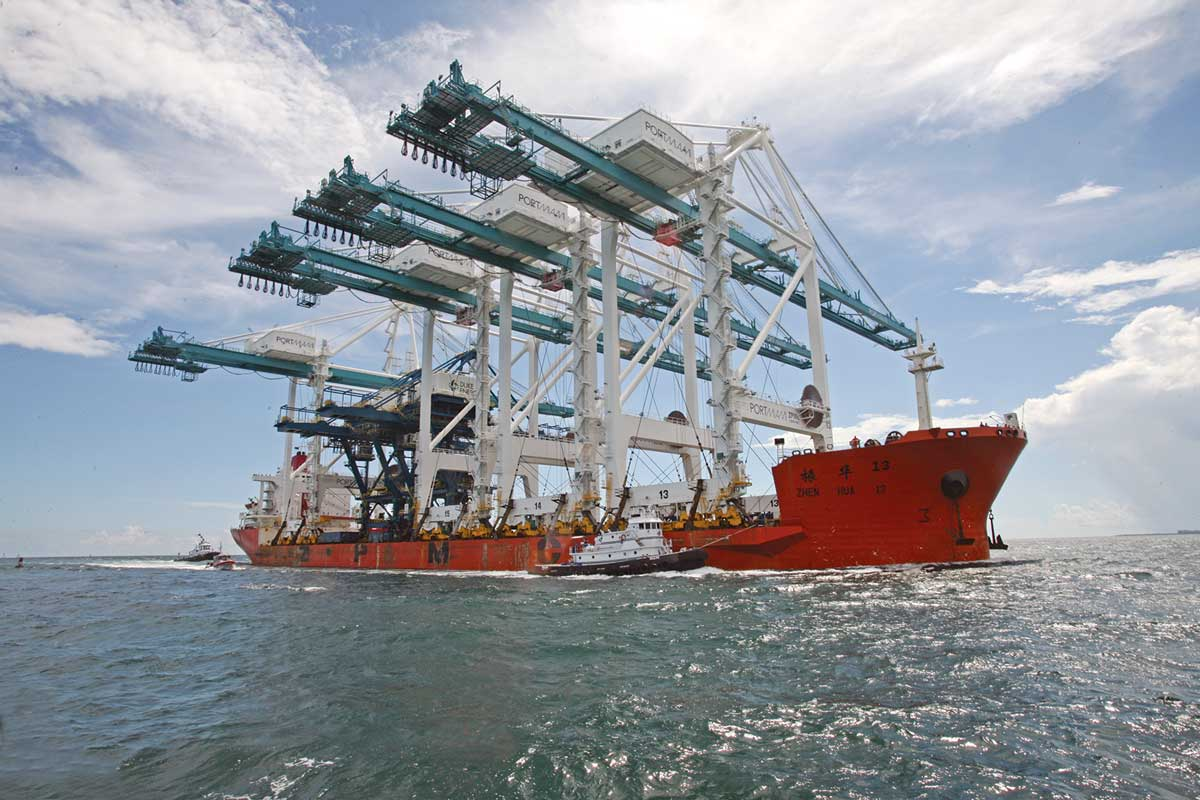 PortMiami traffic with Asia rises 11%